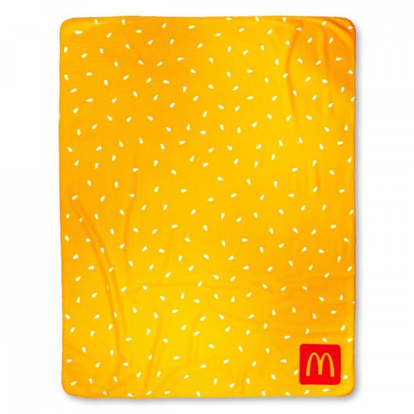 Fleece Blanket Sesame Yellow
